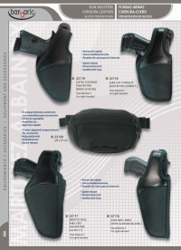 arms bags and briefcases GUN HOLSTERS CORDURA-LEATHER