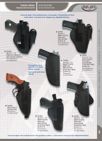arms bags and briefcases GUN HOLSTERS BLISTER PRESENTATION