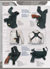 BARBARIC SHOULDER GUN HOLSTERS