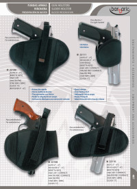 arms bags and briefcases GUN HOLSTERS AND SLIDE HOLSTER