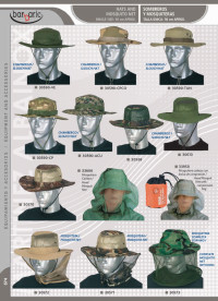 camping and survival  CAPS AND HATS BARBARIC
