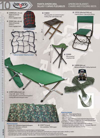 camping and survival  equipment AMERICAN BLANKET AND CHAIRS