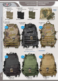 BARBARIC TACTICAL BACKPACKS WITH COLOURS