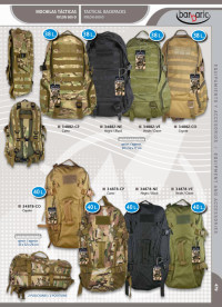 BARBARIC ASSORTED TACTICAL BACKPACKS
