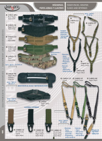 camping and survival  WEAPON SLINGS AND VEST BARBARIC