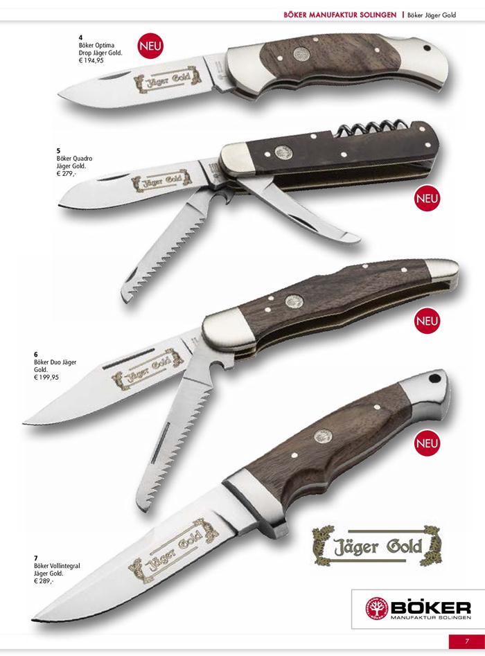 JAGER GOLD BOKER 🔪 BOKER - hunting knives hunting knives