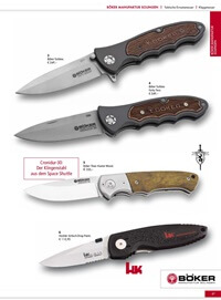 couteaux-navajas chasse CLASSIC COUTEAUX BOKER