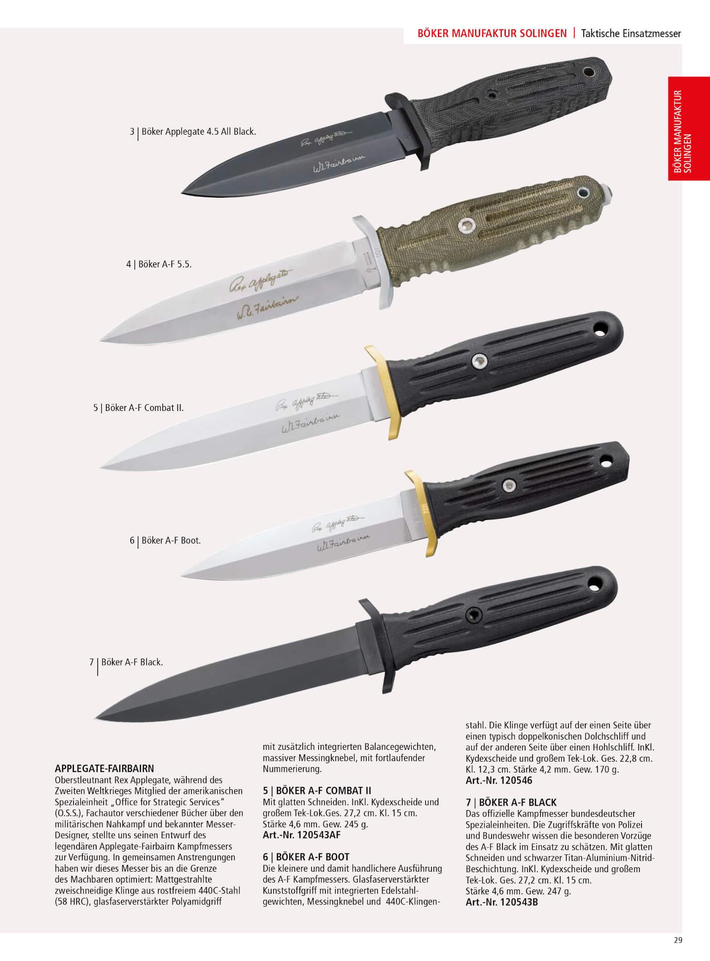 120644 Tactical Knives 2 Boker Tactical Knives Tactical Cutlery