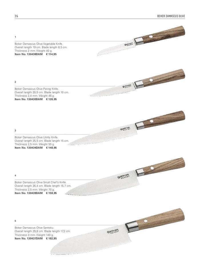 Cuchilleria profesional cocinero cuchillos cocina - Menaje cocina profesional ...