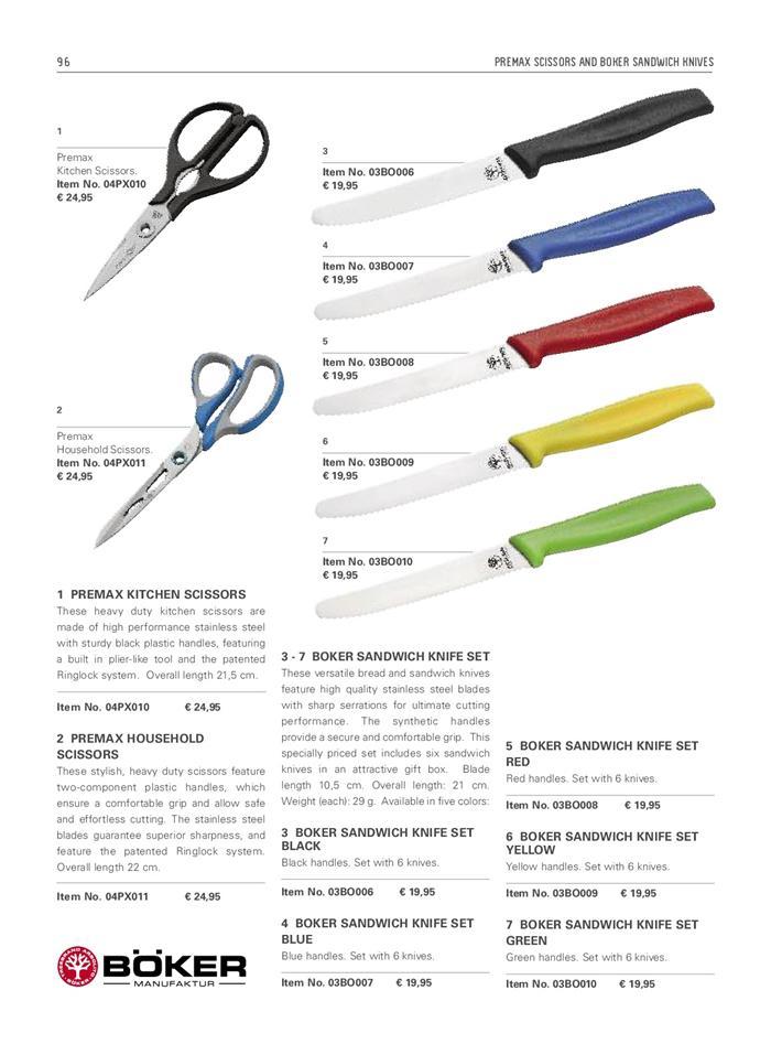 Cuchilleria profesional cocinero z cuchillos pan boker for Cuchilleria profesional cocina