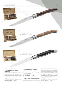 professional knives cook STEAK KNIFE SET