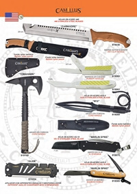 couteaux chasseurs axes CARNIVORE Y TOMAHAWK