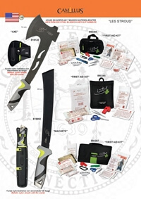 hunting knives  LES STROUD 2