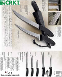professional knives cook CRKT BIG EDDY KITCHEN KNIVES