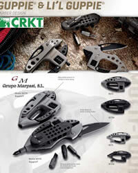 polyvalent outils CRKT GUPPIE POLYVALENT