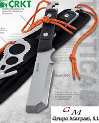 hunting knives axes CRKT MAK 1 EXTRIK 8 R RESCUE KNIFE