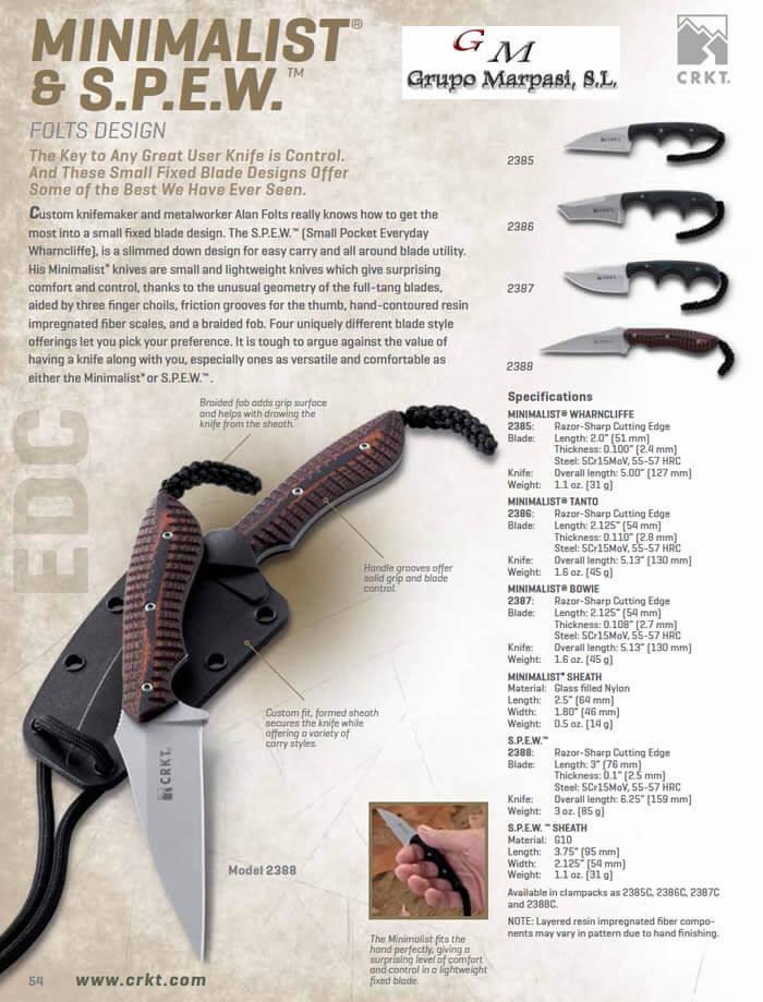2388 Crkt Minimalist Spew Crkt Tactical Knives