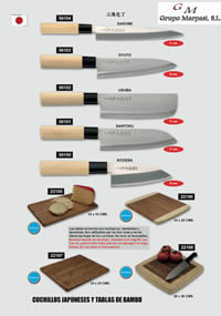 professional knives cook JAPANESE KNIVES