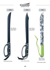CROSSNAR MACHETES OUTDOOR