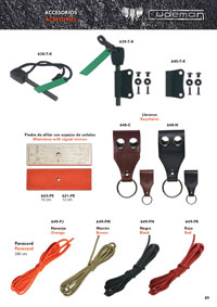 coltelli da caccia  ACCESSORI FUNDAS KYDEX