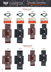 CUDEMAN LEATHER ADAPTERS AND ACCESSORIES