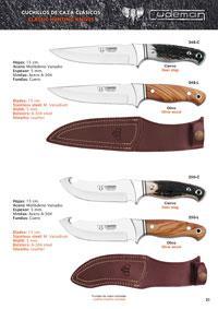 CUDEMAN HUNTING KNIVES 1
