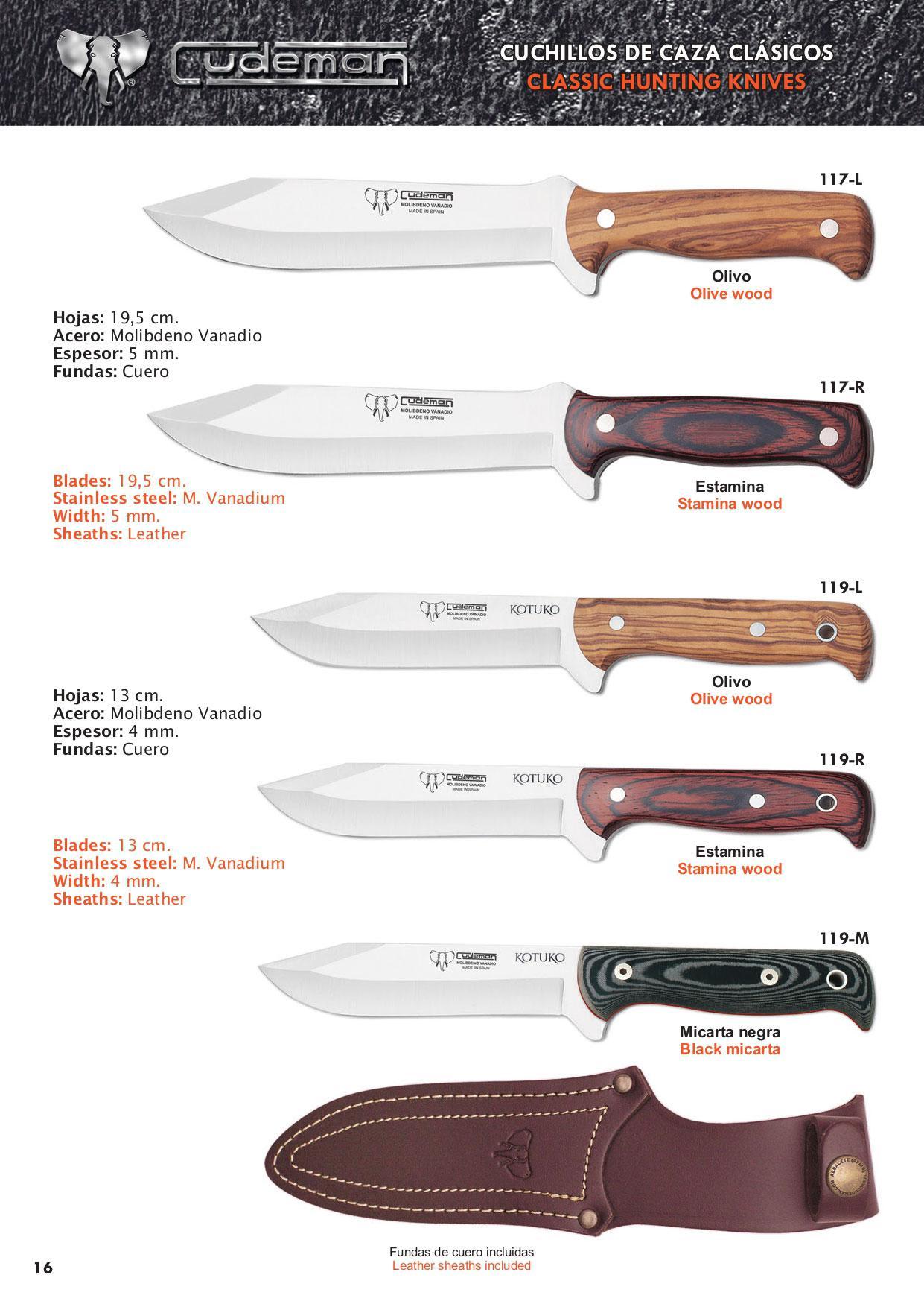 157 r cuchillos de caza 10 cudeman cuchillos tacticos y caza cuchillos caza cuchilleria - Fundas para cuchillos de cocina ...
