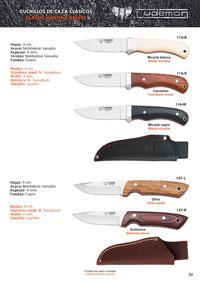 CUDEMAN HUNTING KNIVES 7