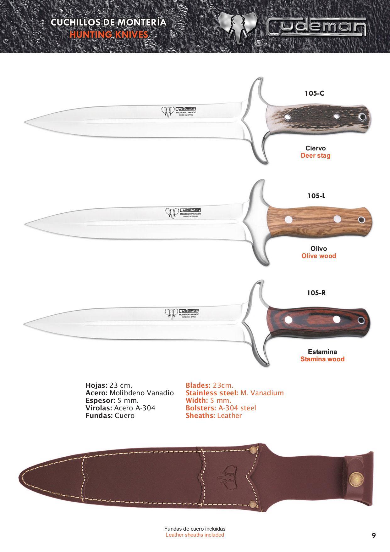 messer monteria 2 cudeman hunter messer monteria messer besteck. Black Bedroom Furniture Sets. Home Design Ideas