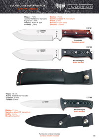hunting knives  MT3 MT2 FAB