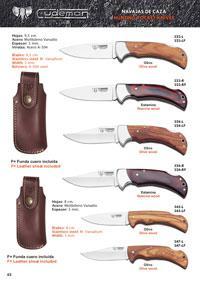 CUDEMAN HUNTING POCKET KNIVES 2