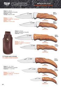 CUDEMAN HUNTING POCKET KNIVES