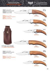 CUDEMAN HUNTING POCKET KNIVES 4