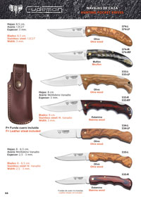 CUDEMAN HUNTING POCKET KNIVES 5