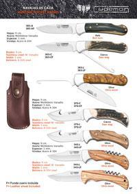 CUDEMAN HUNTING POCKET KNIVES 6