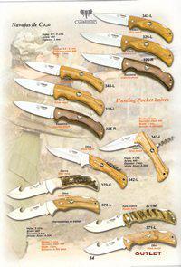 CUDEMAN HUNTING POCKET KNIVES 1