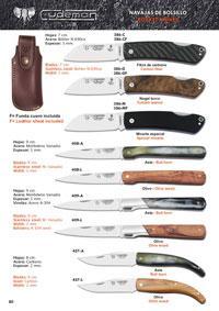CUDEMAN STILETTO POCKET KNIVES 1