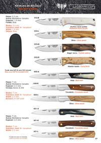 CUDEMAN FOLDING KNIVES MT10