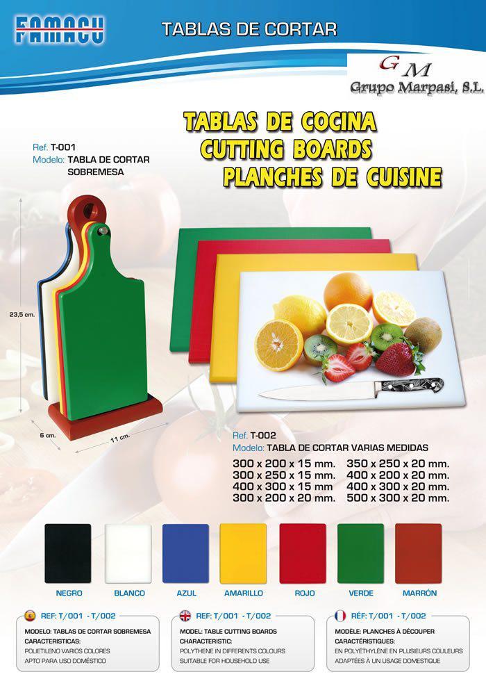 Utensili da cucina tabelle cucina tablas cocina famacu for Ingrosso utensili da cucina