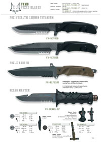FOX STEALTH CUCHILLO MILITAR