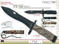 hunting knives  LEONIDA KNIFE MILITARY