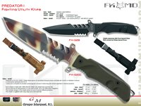 hunting knives  PREDATOR I KNIFE MILITARY