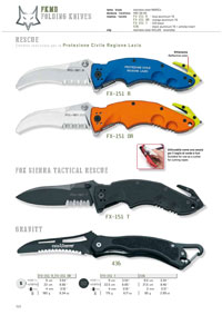 pocketknives tactical RESCUE KNIFE FX-151