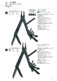 polyvalent outils SOG MULTITOOLS