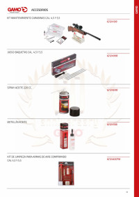 GAMO MAINTENANCE ACCESSORIES