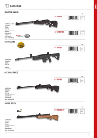 GAMO CARBINES G-FORCE AND DELTAMAX
