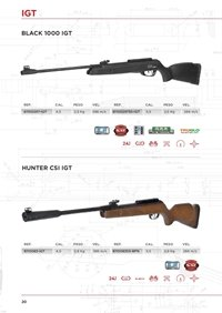 arms air rifles GAMO IGT CARBINES