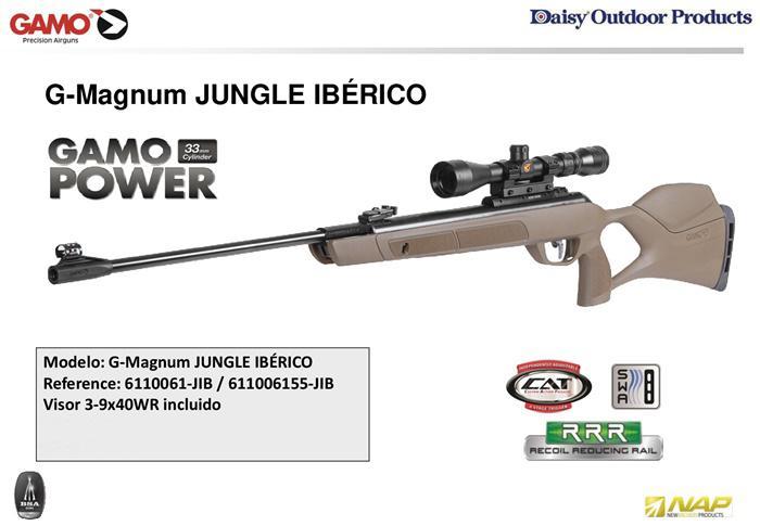 G-MAGNUM JUNGLE IBERICO 🔪 GAMO - airsoft rifles gas