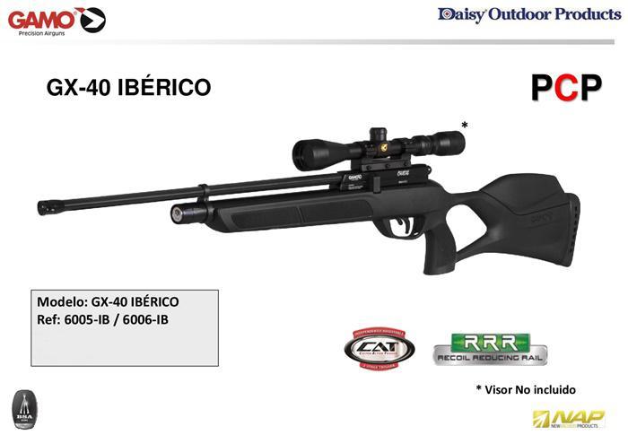 GX-40 IBERICO 🔪 GAMO - airsoft rifles gas, 6006-IB - Cutlery