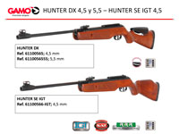 airsoft  HUNTER DX AND HUNTER SE IGT